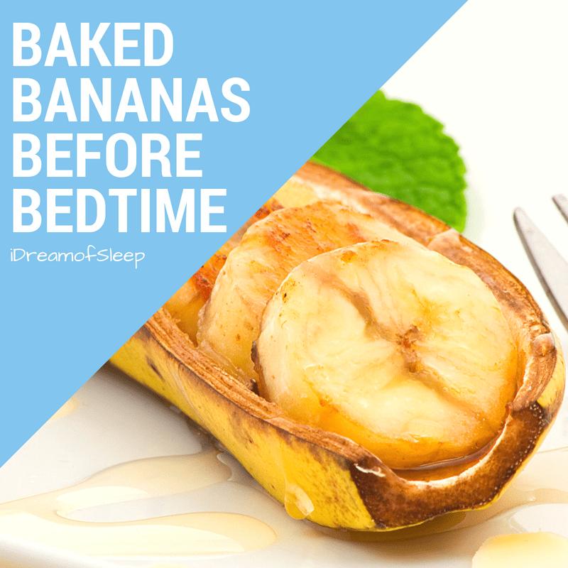 Baked Bananas and Honey Natural Sleep Remedy Recipe
