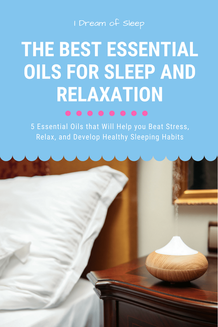 If you suffer from insomnia, definitely give aromatherapy a try. They're an awesome natural remedy for sleep. I didn't think restful deep sleep was possible until I started using these 5 essential oils in my diffuser every night. Try these oils for sleep and relaxation so you can have sweet dreams, too! #goodnight #insomniaremdies #cantsleep #sleeplessnights
